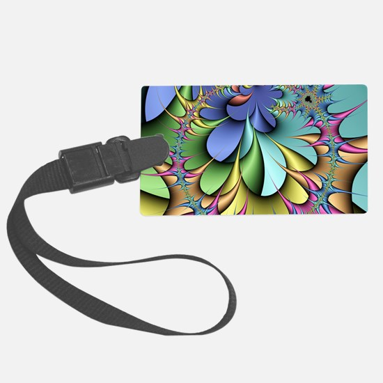 Julia fractal Luggage Tag