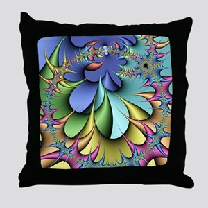 Julia fractal Throw Pillow