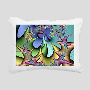Julia fractal Rectangular Canvas Pillow