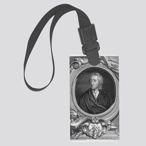 John Locke, English philosopher Large Luggage Tag