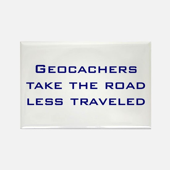 Geocachers Take the Road Rectangle Magnet