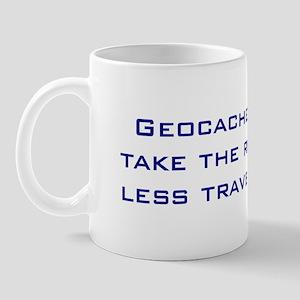 Geocachers Take the Road Mug