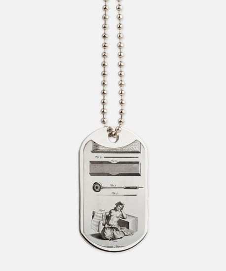 Japanese acupuncture Dog Tags