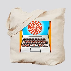 Internet dating, conceptual image Tote Bag