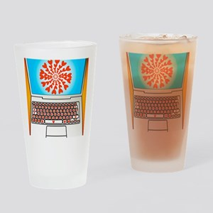 Internet dating, conceptual image Drinking Glass