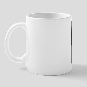 Interferon, molecular model Mug