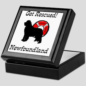Newfie Get Rescued Keepsake Box