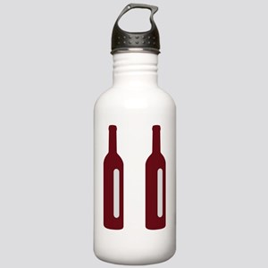 Pause Wine Flip Flop L Stainless Water Bottle 1.0L
