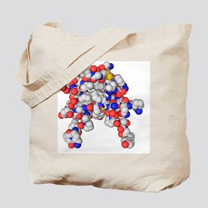 Insulin-like growth 1 factor molecule Tote Bag