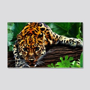 Jungle Cheetah 20x12 Wall Decal
