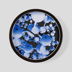 Insulin molecule Wall Clock