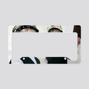 Identical twin boys License Plate Holder