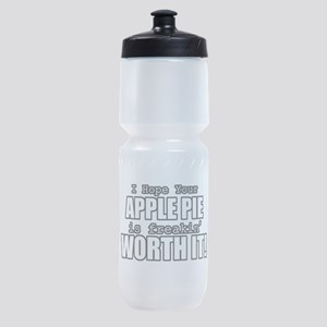 Supernatural Pie Quote Sports Bottle