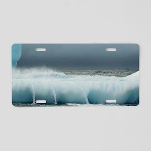 Iceberg, South Georgia Aluminum License Plate