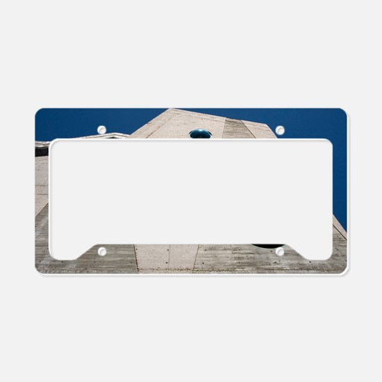 IMAM building, Mostoles, Spai License Plate Holder