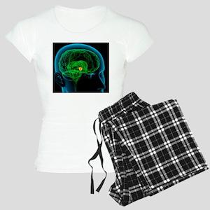 Hypothalamus in the brain,  Women's Light Pajamas