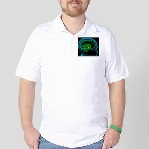 Hypothalamus in the brain, artwork Golf Shirt