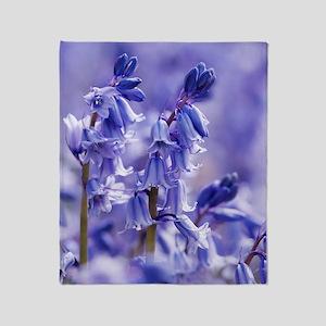 Hyacinthoides x massartiana Throw Blanket