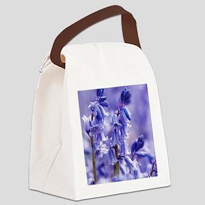Hyacinthoides x massartiana Canvas Lunch Bag