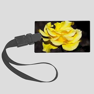 Hybrid tea rose (Rosa 'Freedom') Large Luggage Tag