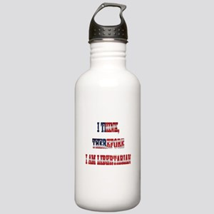 Think Libertarian Stainless Water Bottle 1.0L