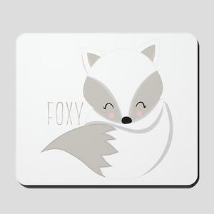Winter Foxy Mousepad