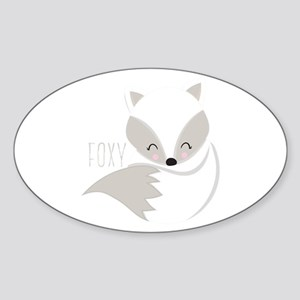 Winter Foxy Sticker
