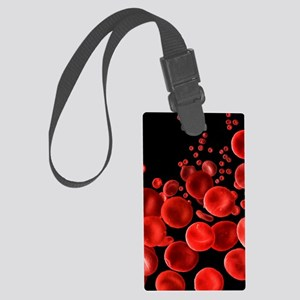 Human Red Blood Cells, SEM Large Luggage Tag