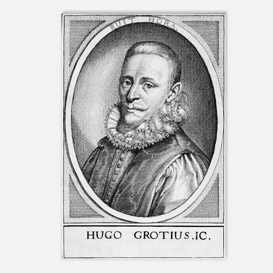 Hugo Grotius, Dutch juris Postcards (Package of 8)
