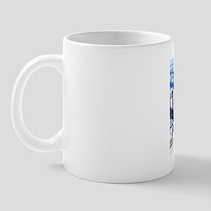 Hospital germs, conceptual artwork Mug