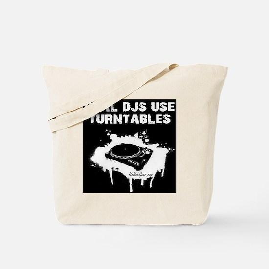 REAL DJS TEE Tote Bag