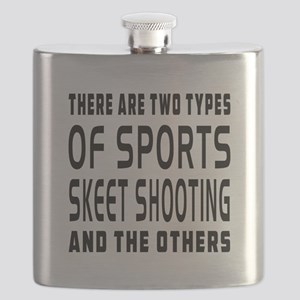 Skeet Shooting Designs Flask