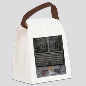 Historic Russian computer Canvas Lunch Bag
