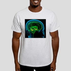 Hippocampus in the brain, artwork Light T-Shirt