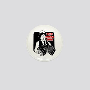 It's Polka Time Mini Button