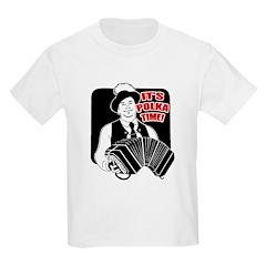 It's Polka Time Kids T-Shirt