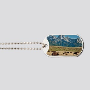 Herd of American Bison Dog Tags