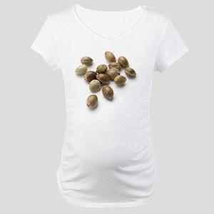 Hemp seeds Maternity T-Shirt