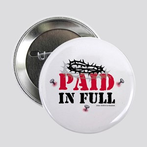 Jesus Paid In Full Button
