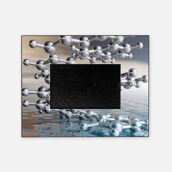 Helicene chiral hydrocarbon Picture Frame