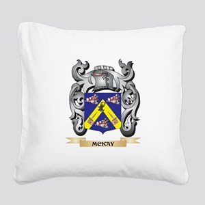 Mckay Coat of Arms - Family C Square Canvas Pillow