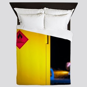Health and safety at work theme Queen Duvet