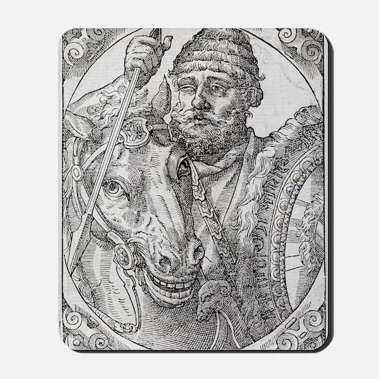 Hannibal, Carthaginian general Mousepad