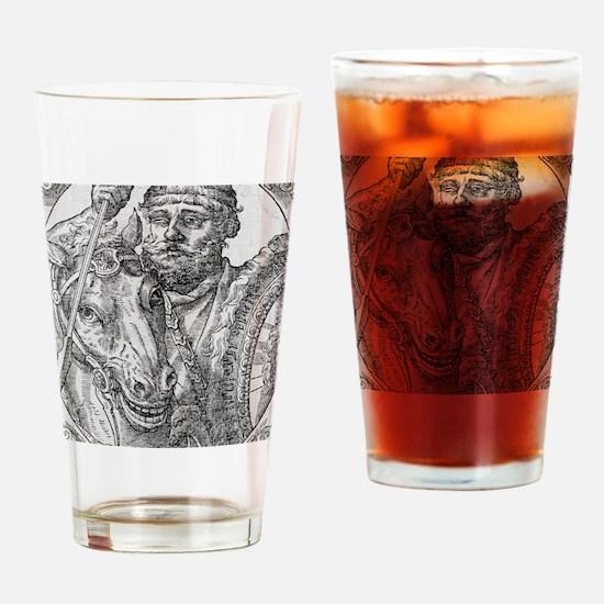 Hannibal, Carthaginian general Drinking Glass