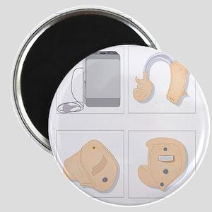 Hearing aids, artwork Magnet