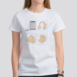Hearing aids, artwork Women's T-Shirt