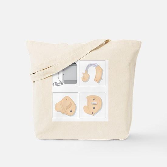 Hearing aids, artwork Tote Bag
