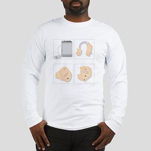 Hearing aids, artwork Long Sleeve T-Shirt