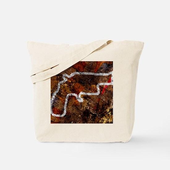 Gun crime, conceptual image Tote Bag