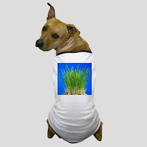 Green shoots Dog T-Shirt